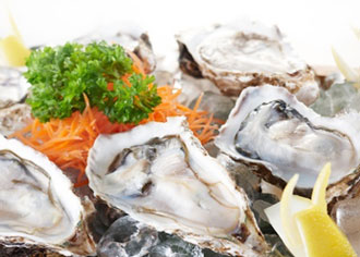 Photograph of Fresh Oysters